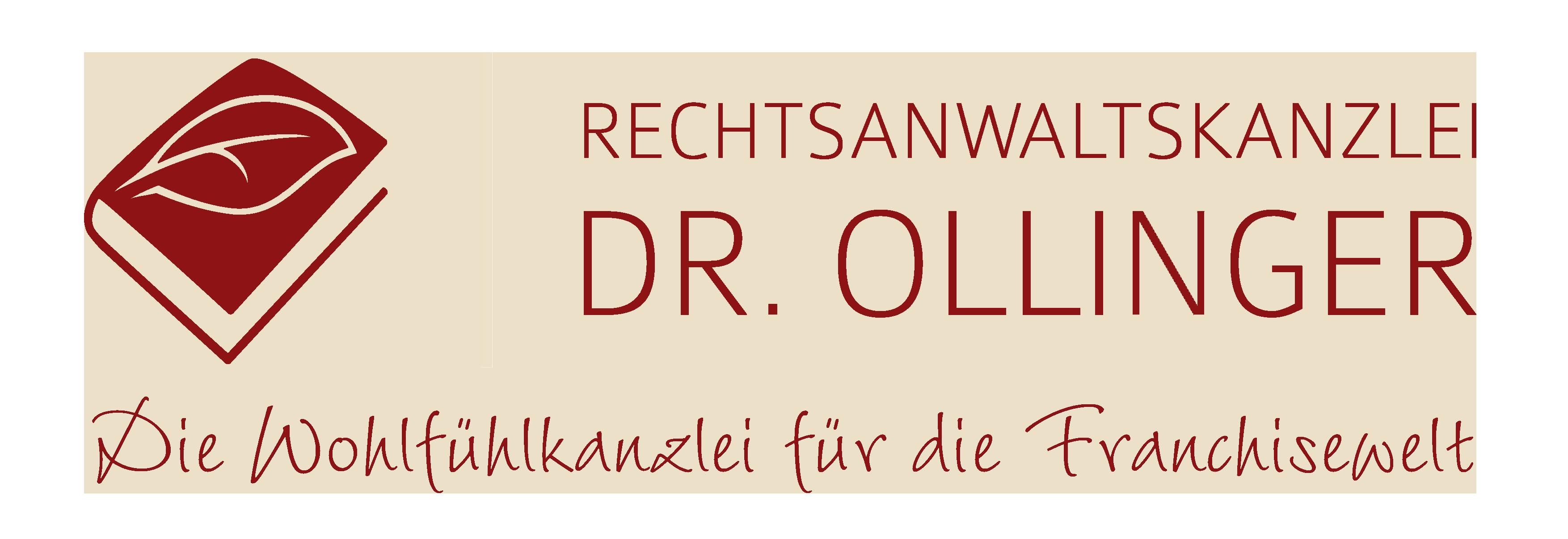 Franchise-Rechtsanwalt Dr. Ollinger